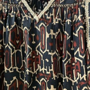 Anthropologie Tops - NWOT Anthropologie Embroidered Blouse